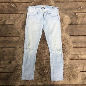 CofH Racer skinny distressed jeans - size 24